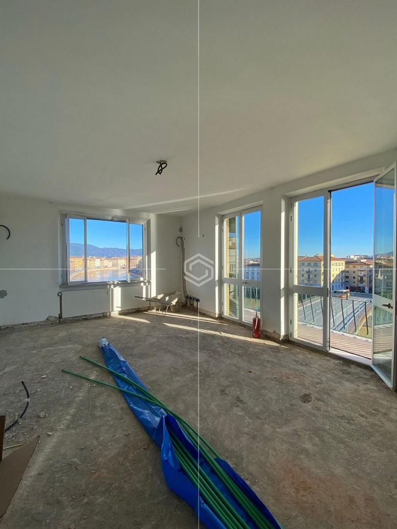 Appartamento con garage in Lungarno Simonelli in affitto