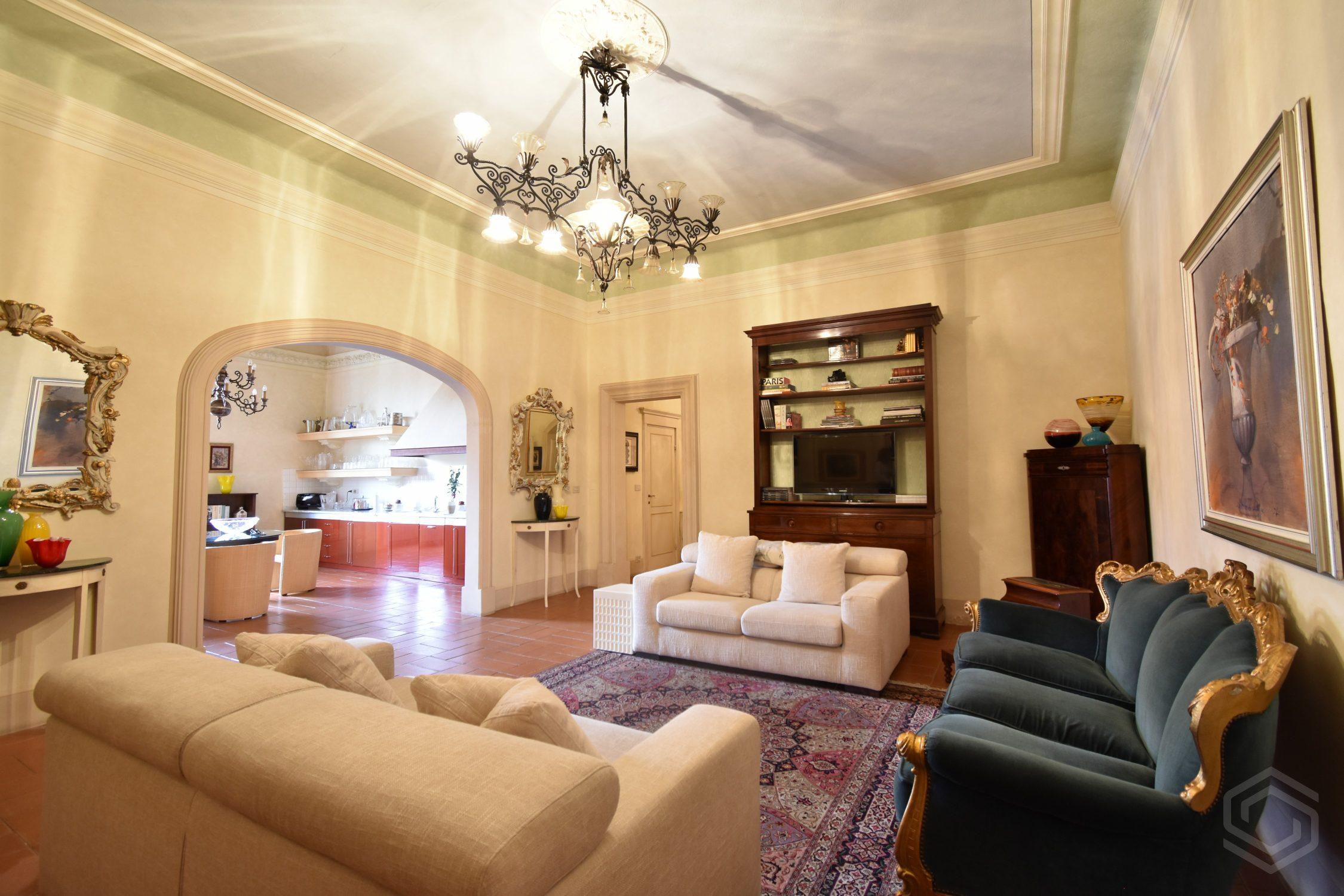 Livorno – Ampia casa storica con fascino unico