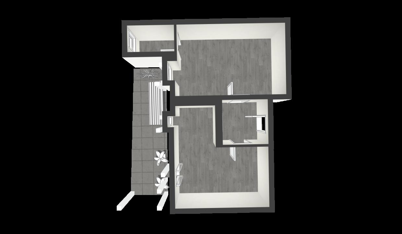 planimetria immobile vendita pisa bilocale dueessepisa